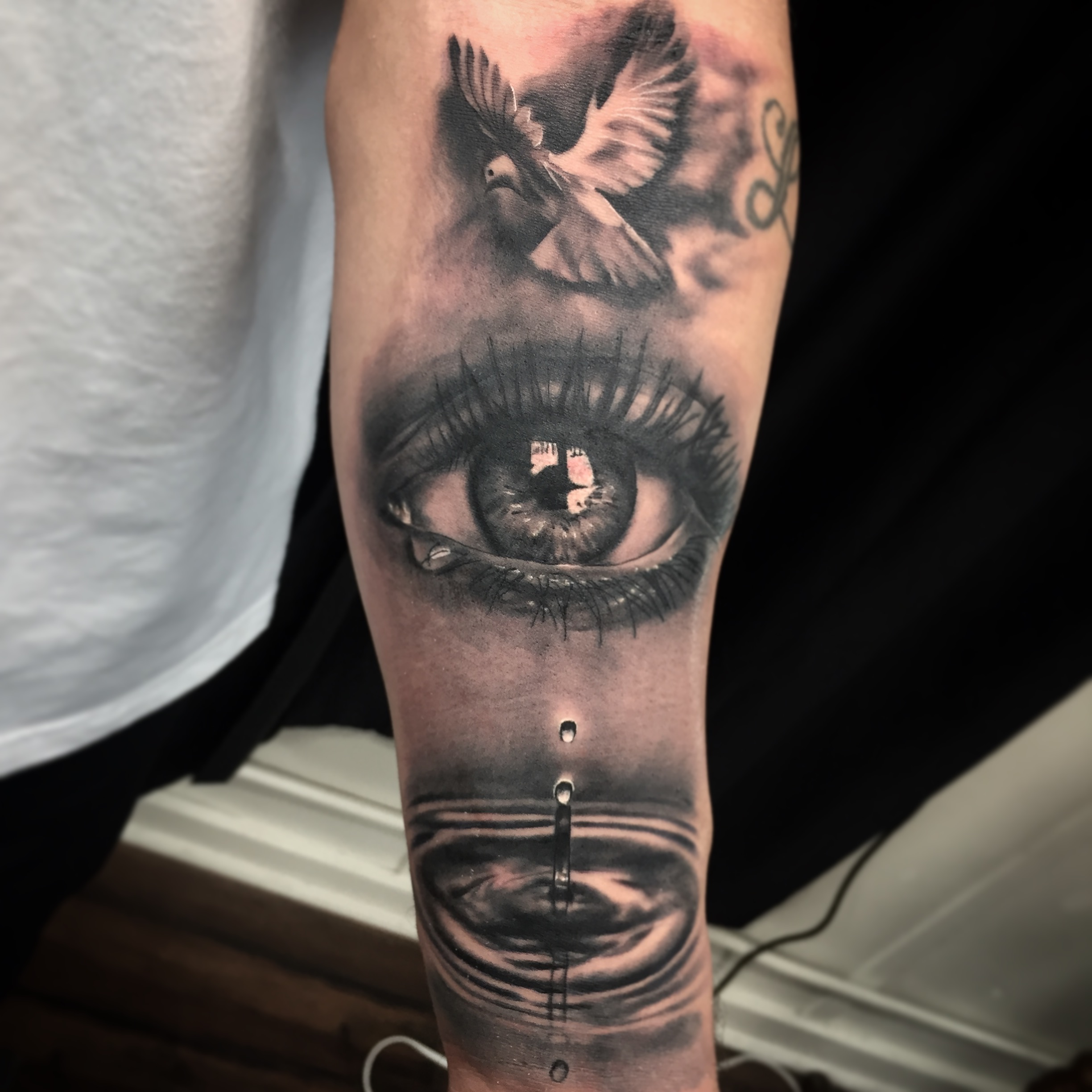 High End Black and Grey Tattoo